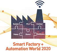 Logo Smart factory automation world